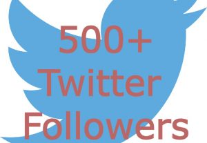 Add You Fast 500+ Twitter Followers Real High Quality & Non Drop