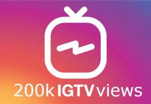 ADD you 500k IGTV views instant start