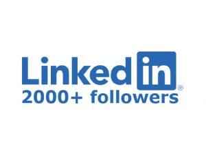 LinkedIn 2000+ followers none drop INSTANT start