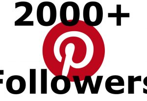 I will Add 2000+ Pinterest Followers OR Saves OR likes