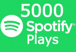 Spotify Music Promotion 5000+ Plays and 500+ Followers