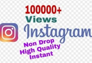 I will provide 100000+ Video Views on Instagram!! Fast and HQ!!