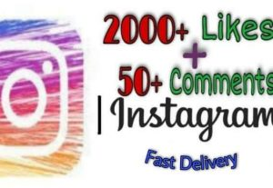 I will provide 2000+ Likes and 50+ Comments on Instagram!! Fast and HQ!!