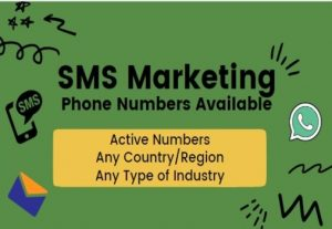 Cell Number Available for Marketing SMS Marketing