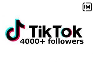 ADD you TiKTOk 5000+ followers none drop