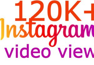 i will send you INSTANT 120K+ Instagram posted video views
