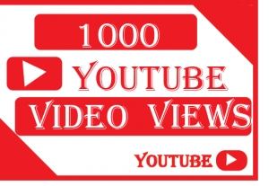 1000+ youtube video views,Non  drop and 100% Real