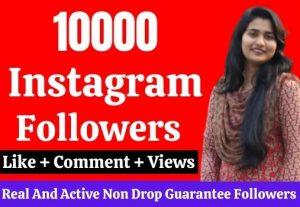 10k cheapest Instagram Followers provide