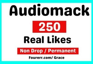 Get 250+ Audiomack Real Track Likes, Instant start, Non-drop, and Permanent