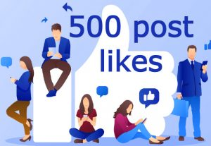 i will send you 500 facebook post likes