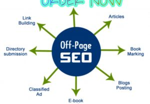 I will do a complete monthly off-page SEO package.