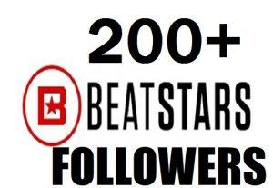 Give you High Quality 200+ beatstars Followers