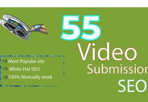 55 Video Sharing Submission Manually Create  Permanent Backlinks SEO