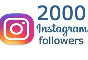 i will Add 2000+ HQ & Non Drop Instagram Followers