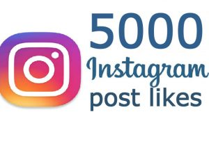 ADD 5000+ Instagram Post Likes Non-drop, real and active user