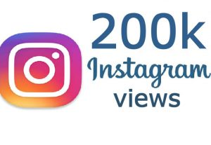 i will send you INSTANT 200K Instagram posted video views
