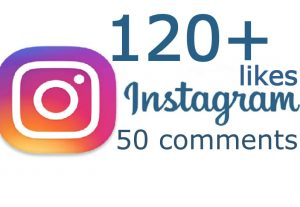 send you 120+ INSTAGRAM Likes and 50 real comments instant