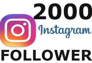i will Add 2000+ HQ & Non Drop Instagram Follower