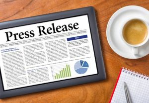 Professional press release for your business