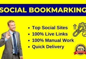 50 High-Quality Social Bookmarking / Bookmarks for website ranking
