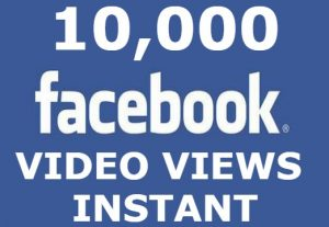 Add you 10K FACEBOOK post views in 24 HOURS