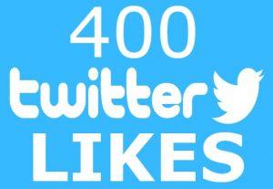 400 twitter post likes INSTANT START