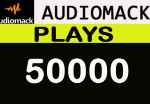 50,000 Audiomack plays promotion for your track
