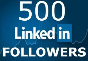 I will add you 500+ LinkedIn Followers