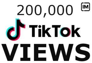 200K+ TikTok Views OR 200 Share Non Drop & High Retention – Instant Start