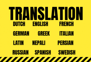 Professional translation in all languages