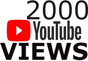 I will Add High Quality Non Drop 2,000+YOUTUBE views Real none drop