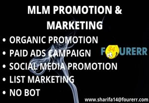 mlm promotion and network marketing