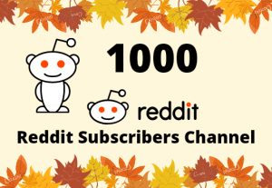 I Will Provide You 1000 Reddit Subscribers Channel Lifetime Guaranteed