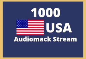 Get 1000 USA Audiomack Stream Guarantee