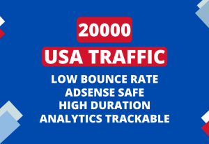 Drive USA targeted quality traffic to your website