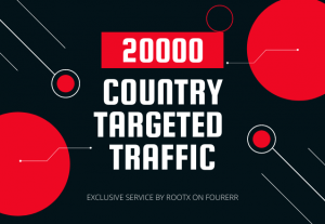 Drive country targeted quality traffic to your website