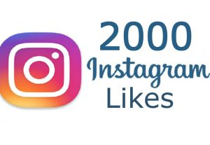 2000 Instagram Real Likes from Real & Active Users Guaranteed