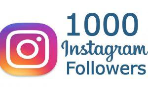 1000 INSTAGRAM REAL FOLLOWERS NON DROP GUARANTEED