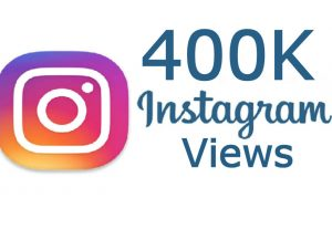 400K Instagram Real Video Views fast delivery