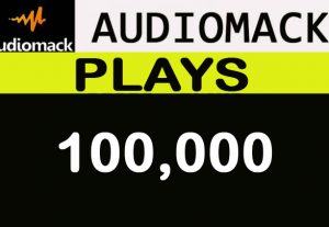 100,000 Audiomack plays promotion for your track