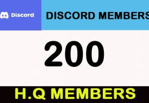 200 Discord H.Q and stable Members/Invites
