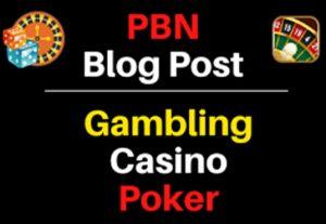 50 Casino Blog Post- Casino, Gambling, Poker, Betting, Sports Sites From Web.2 Properties