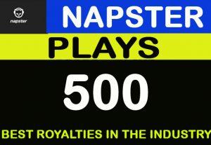 500 Napster Royalties Eligible Premium Plays