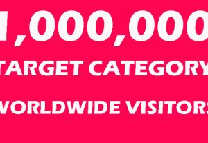 Will Drive 1,000,000 Target Category Worldwide Visitors