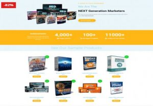 Complete WordPress Digital Product Store With 100 Added Master Resell rights products